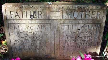 MCLAIN, ETHEL - Scott County, Arkansas | ETHEL MCLAIN - Arkansas Gravestone Photos