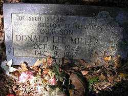MILLER, DONALD LEE - Scott County, Arkansas | DONALD LEE MILLER - Arkansas Gravestone Photos