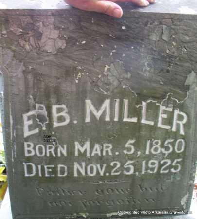 MILLER, ELISHA B - Scott County, Arkansas | ELISHA B MILLER - Arkansas Gravestone Photos