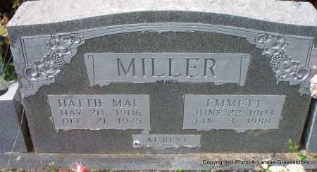 MILLER, EMMETT - Scott County, Arkansas | EMMETT MILLER - Arkansas Gravestone Photos
