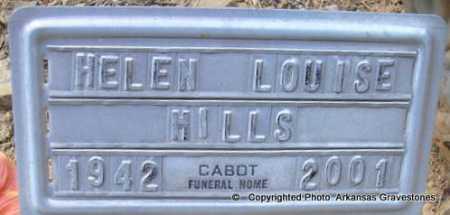 MILLS, HELEN LOUISE - Scott County, Arkansas | HELEN LOUISE MILLS - Arkansas Gravestone Photos