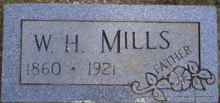 MILLS, W H - Scott County, Arkansas | W H MILLS - Arkansas Gravestone Photos
