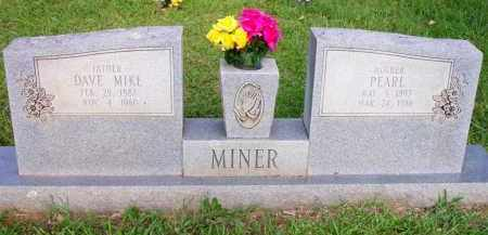 MINER, DAVE MIKE - Scott County, Arkansas | DAVE MIKE MINER - Arkansas Gravestone Photos
