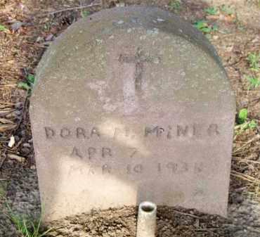 MINER, DORA M - Scott County, Arkansas | DORA M MINER - Arkansas Gravestone Photos