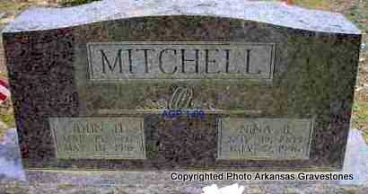 MITCHELL, JOHN H  (2ND  STONE) - Scott County, Arkansas | JOHN H  (2ND  STONE) MITCHELL - Arkansas Gravestone Photos