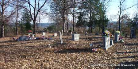 *MONROE CEMTERY OVERVIEW,  - Scott County, Arkansas |  *MONROE CEMTERY OVERVIEW - Arkansas Gravestone Photos