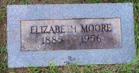 MOORE, ELIZABETH - Scott County, Arkansas | ELIZABETH MOORE - Arkansas Gravestone Photos
