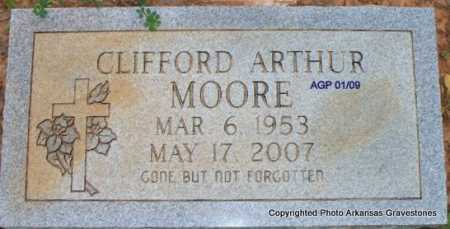 MOORE, CLIFFORD ARTHUR - Scott County, Arkansas | CLIFFORD ARTHUR MOORE - Arkansas Gravestone Photos