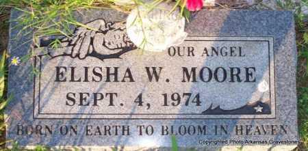 MOORE, ELISHA W - Scott County, Arkansas | ELISHA W MOORE - Arkansas Gravestone Photos