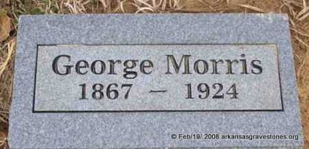 MORRIS, GEORGE - Scott County, Arkansas | GEORGE MORRIS - Arkansas Gravestone Photos