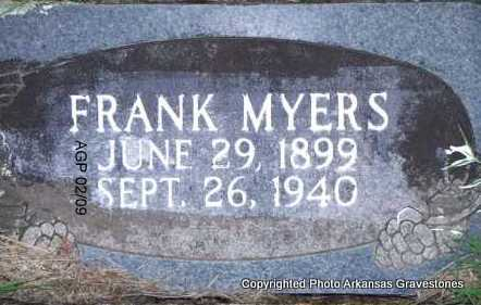 MYERS, FRANK - Scott County, Arkansas | FRANK MYERS - Arkansas Gravestone Photos