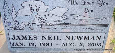 NEWMAN, JAMES NEIL - Scott County, Arkansas | JAMES NEIL NEWMAN - Arkansas Gravestone Photos