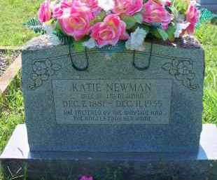 NEWMAN, KATIE - Scott County, Arkansas | KATIE NEWMAN - Arkansas Gravestone Photos