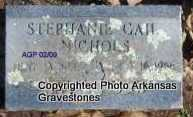 NICHOLS, STEPHANIE GAIL - Scott County, Arkansas | STEPHANIE GAIL NICHOLS - Arkansas Gravestone Photos