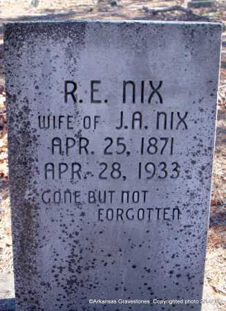 NIX, ROSA  E - Scott County, Arkansas | ROSA  E NIX - Arkansas Gravestone Photos