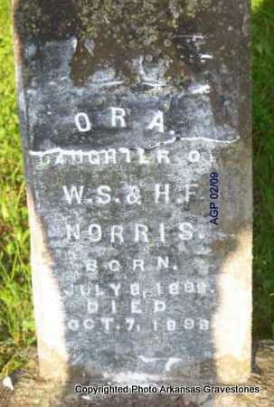 NORRIS, ORA - Scott County, Arkansas | ORA NORRIS - Arkansas Gravestone Photos