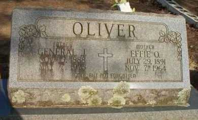 OLIVER, EFFIE O - Scott County, Arkansas | EFFIE O OLIVER - Arkansas Gravestone Photos