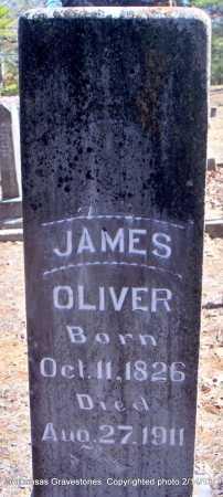 OLIVER, JAMES - Scott County, Arkansas | JAMES OLIVER - Arkansas Gravestone Photos