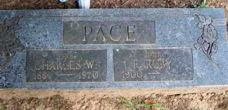 PACE, FLORENCE RUBY - Scott County, Arkansas | FLORENCE RUBY PACE - Arkansas Gravestone Photos