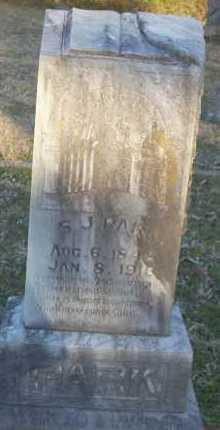 PARK, S  J - Scott County, Arkansas | S  J PARK - Arkansas Gravestone Photos