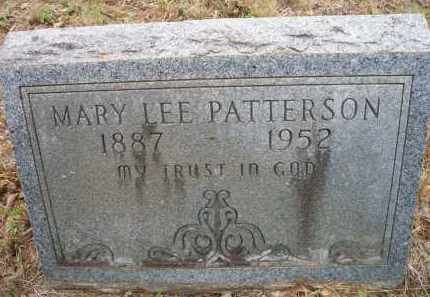 PATTERSON, MARY LEE - Scott County, Arkansas | MARY LEE PATTERSON - Arkansas Gravestone Photos