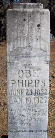 PHIPPS, OBE - Scott County, Arkansas | OBE PHIPPS - Arkansas Gravestone Photos