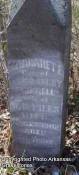 SHIRRELL PILES, MARGARET E - Scott County, Arkansas | MARGARET E SHIRRELL PILES - Arkansas Gravestone Photos