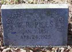 PILES, W  R - Scott County, Arkansas | W  R PILES - Arkansas Gravestone Photos