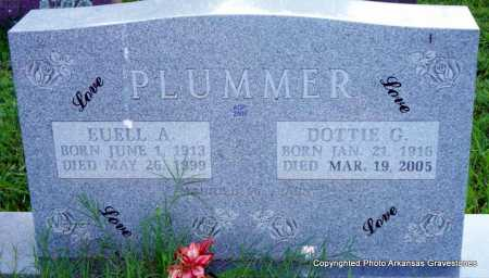 PLUMMER, DOTTIE G - Scott County, Arkansas | DOTTIE G PLUMMER - Arkansas Gravestone Photos