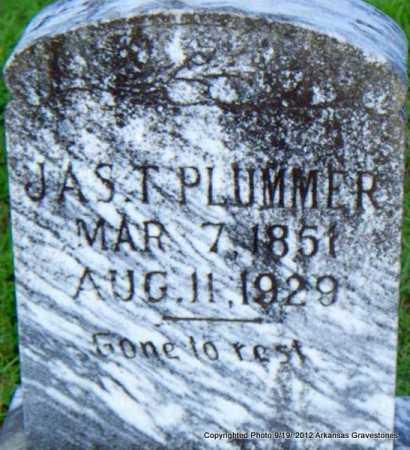 PLUMMER, JAS T - Scott County, Arkansas | JAS T PLUMMER - Arkansas Gravestone Photos