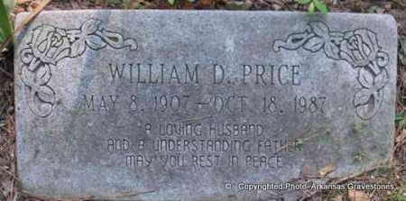 PRICE, WILLIAM D - Scott County, Arkansas | WILLIAM D PRICE - Arkansas Gravestone Photos