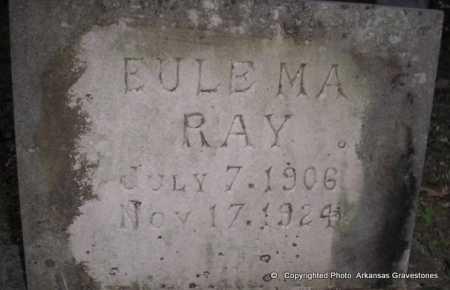 RAY, EULEMA - Scott County, Arkansas | EULEMA RAY - Arkansas Gravestone Photos