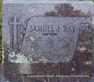 RAY, SAMUEL J - Scott County, Arkansas | SAMUEL J RAY - Arkansas Gravestone Photos