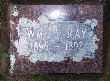 RAY, WM  B - Scott County, Arkansas | WM  B RAY - Arkansas Gravestone Photos