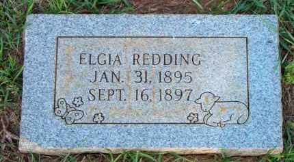 REDDING, ELGIA - Scott County, Arkansas | ELGIA REDDING - Arkansas Gravestone Photos