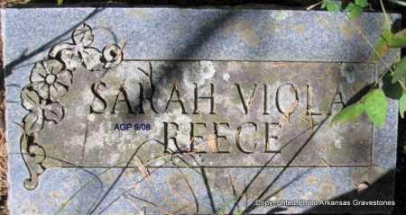 REECE, SARAH VIOLA - Scott County, Arkansas | SARAH VIOLA REECE - Arkansas Gravestone Photos