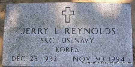 REYNOLDS  (VETERAN KOR), JERRY L - Scott County, Arkansas | JERRY L REYNOLDS  (VETERAN KOR) - Arkansas Gravestone Photos
