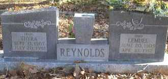 REEDER REYNOLDS, THYRA BEATRICE - Scott County, Arkansas | THYRA BEATRICE REEDER REYNOLDS - Arkansas Gravestone Photos
