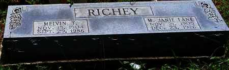 RICHEY, MELVIN T - Scott County, Arkansas | MELVIN T RICHEY - Arkansas Gravestone Photos