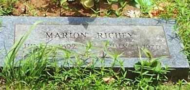 RICHEY, MARION - Scott County, Arkansas | MARION RICHEY - Arkansas Gravestone Photos
