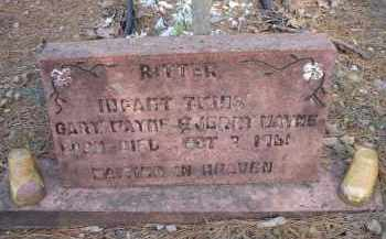 RITTER, GARY WAYNE - Scott County, Arkansas | GARY WAYNE RITTER - Arkansas Gravestone Photos