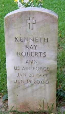 ROBERTS  (VETERAN), KENNETH RAY - Scott County, Arkansas | KENNETH RAY ROBERTS  (VETERAN) - Arkansas Gravestone Photos