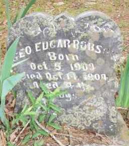 ROBSON, GEO EDGAR - Scott County, Arkansas | GEO EDGAR ROBSON - Arkansas Gravestone Photos