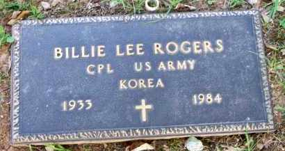 ROGERS  (VETERAN KOR), BILLIE LEE - Scott County, Arkansas | BILLIE LEE ROGERS  (VETERAN KOR) - Arkansas Gravestone Photos