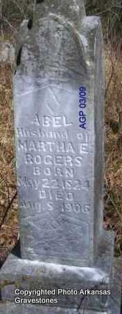 ROGERS, ABEL - Scott County, Arkansas | ABEL ROGERS - Arkansas Gravestone Photos