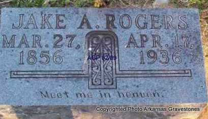 ROGERS, JAKE A - Scott County, Arkansas | JAKE A ROGERS - Arkansas Gravestone Photos