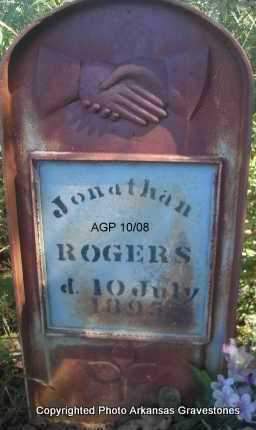 ROGERS, JONATHAN - Scott County, Arkansas | JONATHAN ROGERS - Arkansas Gravestone Photos