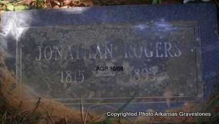 ROGERS, JONATHAN  (2ND STONE) - Scott County, Arkansas | JONATHAN  (2ND STONE) ROGERS - Arkansas Gravestone Photos