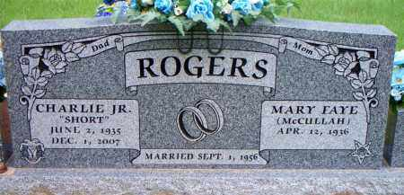 "ROGERS, JR, CHARLIE  ""SHORT"" - Scott County, Arkansas 