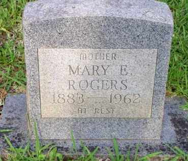 ROGERS, MARY E - Scott County, Arkansas | MARY E ROGERS - Arkansas Gravestone Photos